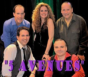 5 Avenues Show Band cathy baker