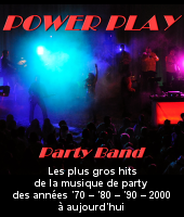 Power Play band groupe party Cathy Baker